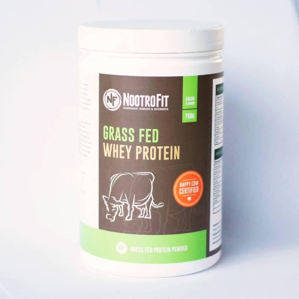 NootroFit Grasgevoerde Whey Proteine - 750 gram