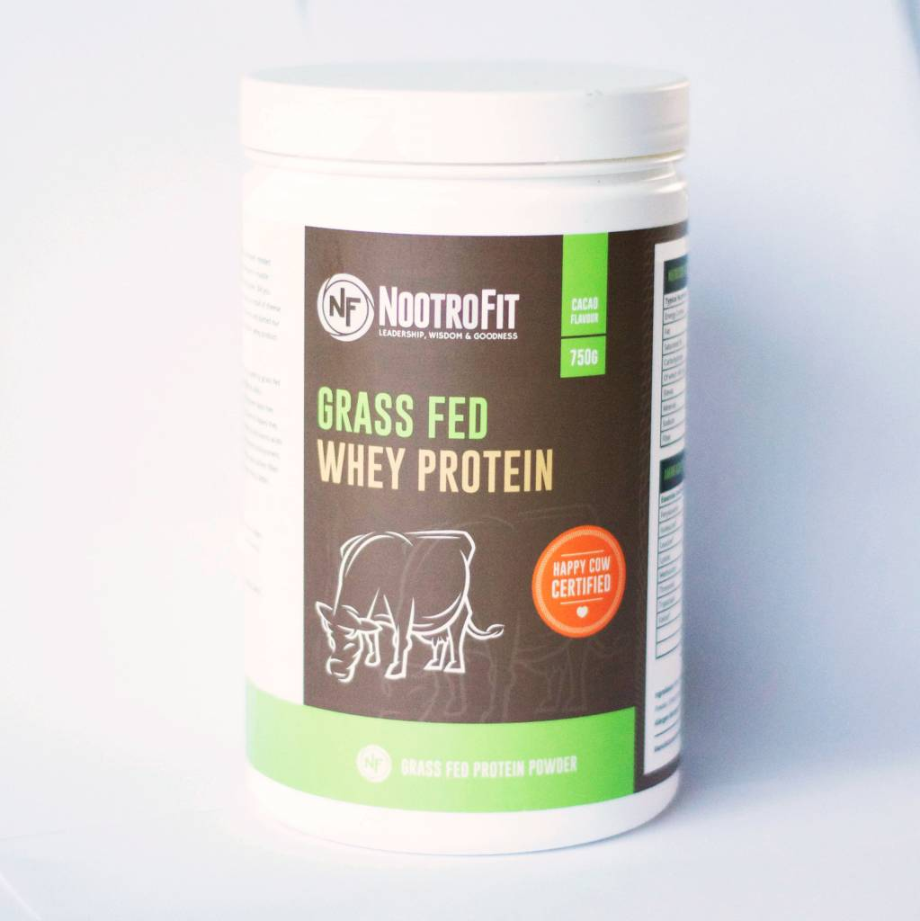 NootroFit Grass-fed Whey Protein - 750 Gram