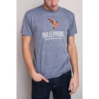The Bulletproof Executive T-Shirt Gray