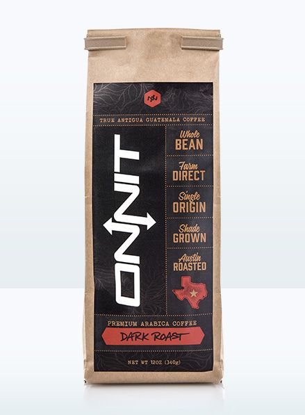 Onnit Arabica Dark Roast Coffee - 12oz