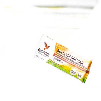 The Bulletproof Executive Vanilla Collagen Bar - 12 pack