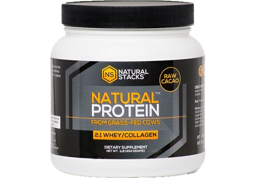 Natural Stacks Natural Protein™ - Cacao