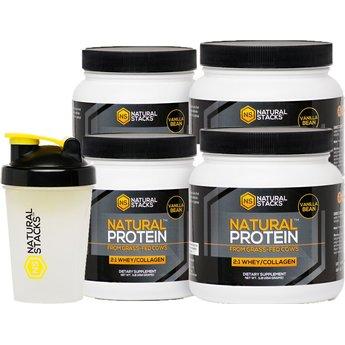 Natural Stacks Natural Protein™ - Vanilla
