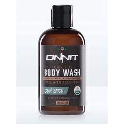 Onnit Zen Spice Castile Body Wash
