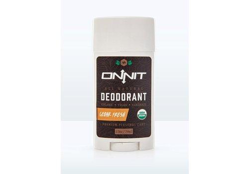 Onnit Cedar Fresh Organic Deodorant