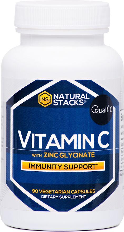 Natural Stacks Vitamin C with Zinc
