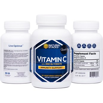 Natural Stacks Vitamin C with Zinc