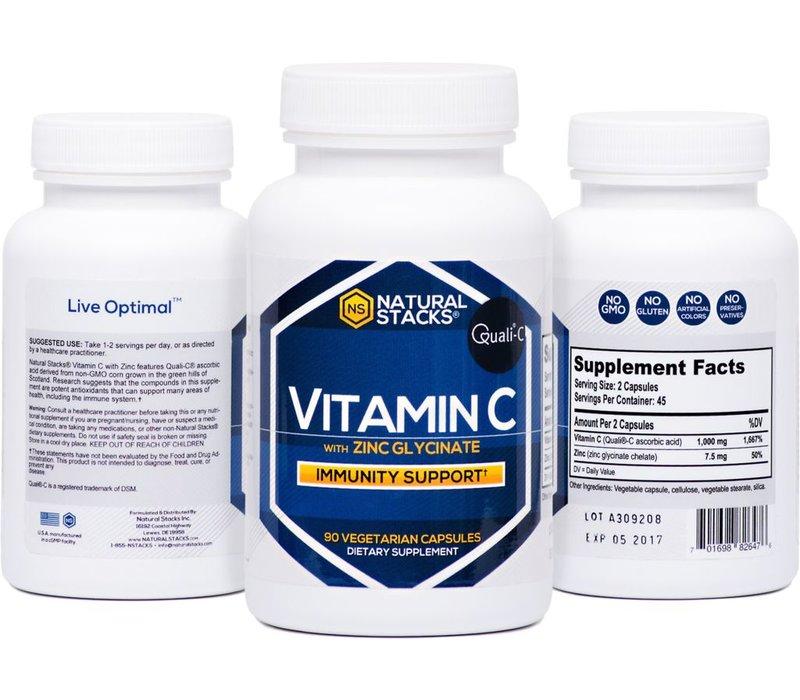 Vitamin C with Zinc