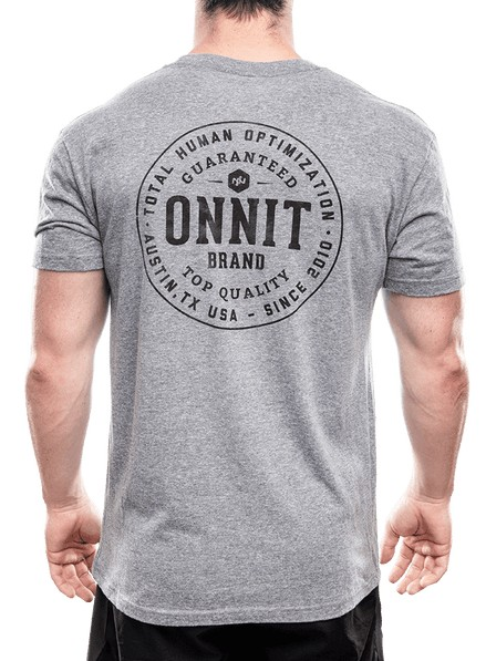 Onnit Men's Onnit Guaranteed Tri-Blend - Grey