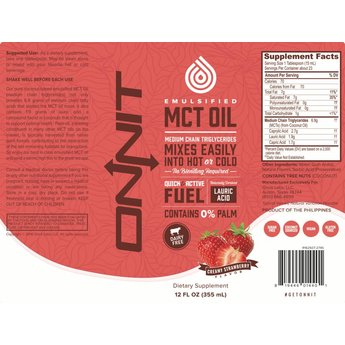 Onnit Emulsified MCT Oil