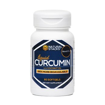 Natural Stacks Natural Stacks Curcumin with Organic Coconut Oil