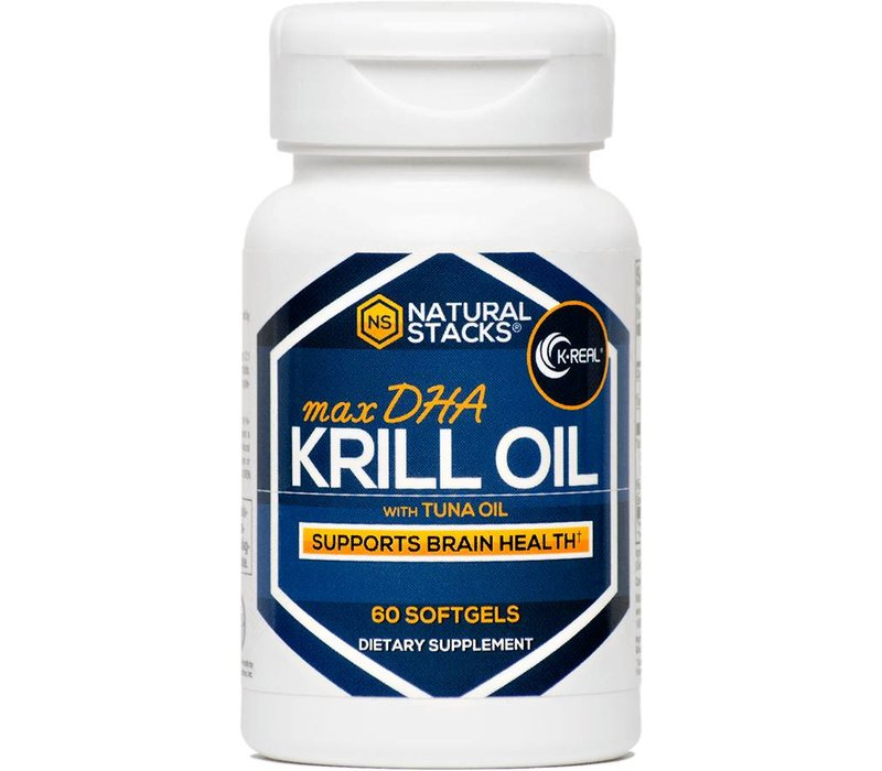 Antarctische Krillolie met 1.5 mg Astaxanthine - 60 capsules