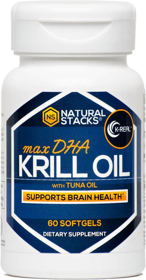 Natural Stacks Antarctische Krillolie met 1.5 mg Astaxanthine - 60 Kapseln
