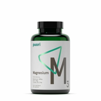 Puori M3: Magnesium - 120 capsules