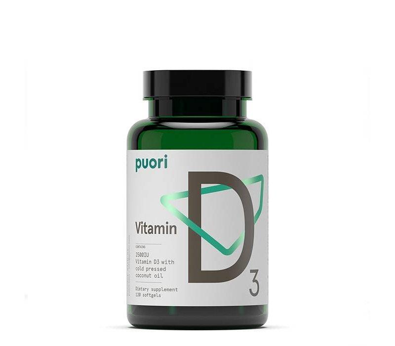 D3: COCONUT FORMULA - 120 capsules