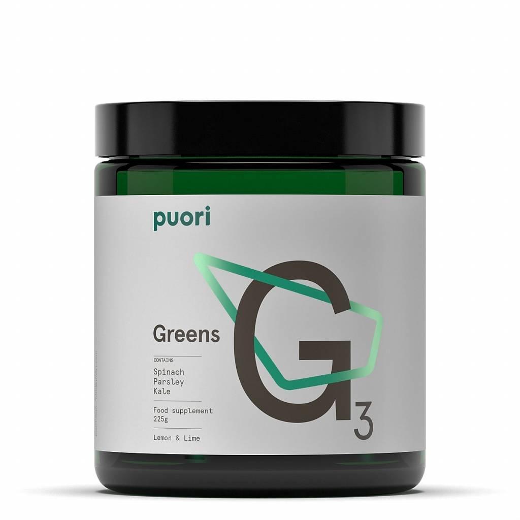 Puori G3 Greens - Lemon & Lime