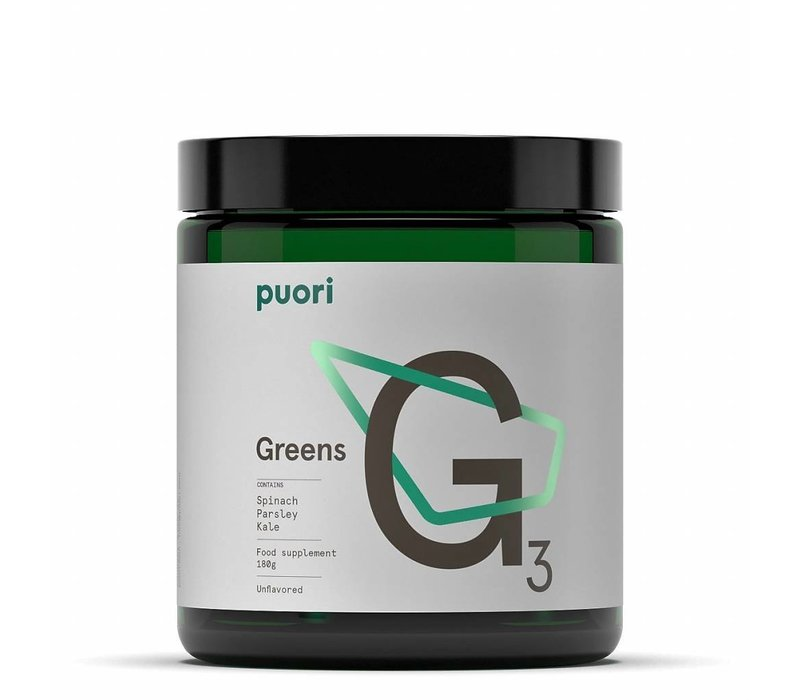 G3 unflavoured Greens