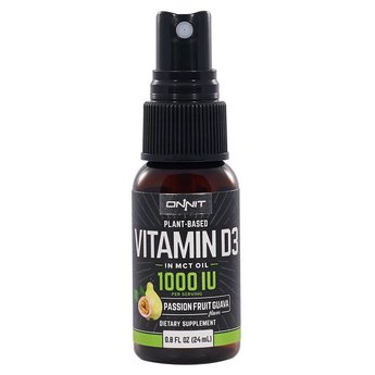 Onnit Vitamin D3 Spray in MCT Oil