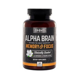 Onnit Alpha Brain - 90 Kapseln