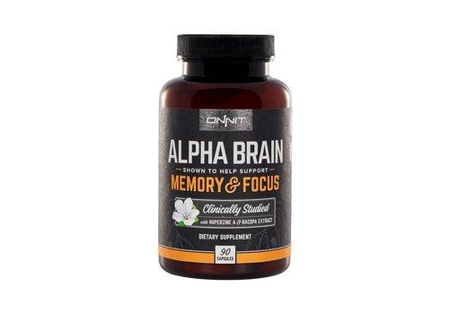 Onnit Alpha Brain - 90 capsules