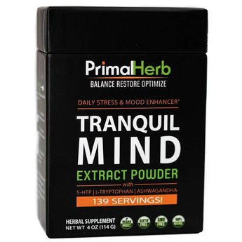 Primal Herb TRANQUIL MIND™ - Daily Stress & Mood Enhancer