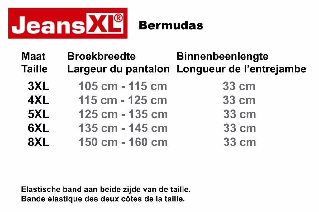 JeansXL 514 bermuda grandes tailles