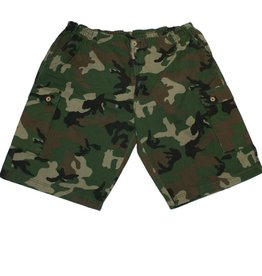 JeansXL 522 Grote Maten Camouflage Bermuda