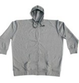 VANDAM 8803 grandes tailles cardigan sweat melange