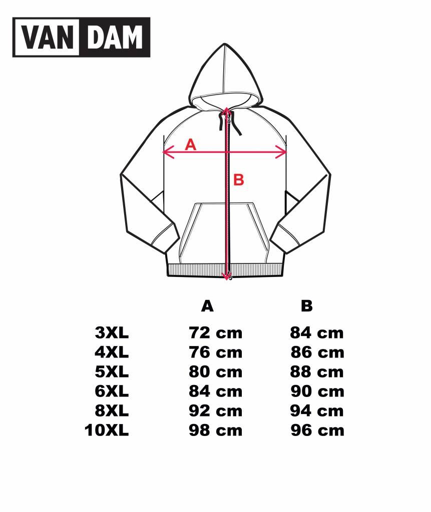 VANDAM 8803 Grandes tailles Sweat Cardigan Gris