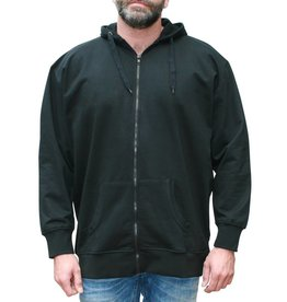 VANDAM 8801 grandes tailles cardigan sweat noir