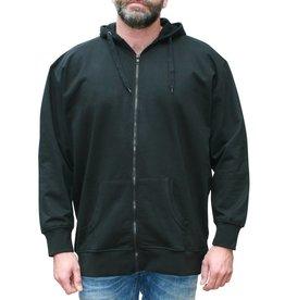VANDAM 8801 Grandes tailles Sweat Cardigan Noir