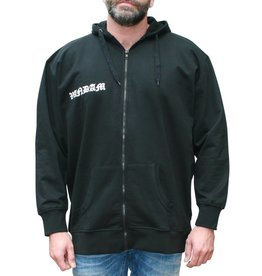 VANDAM 8810 grandes tailles cardigan sweat noir