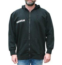 VANDAM 8810 Grandes tailles Sweat Cardigan Noir