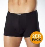CECEBA 2700 Boxer Shorts de grandes tailles Noir (2-pack)