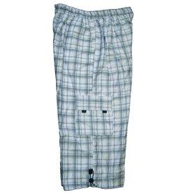 DAGIO 11332 Shorts de Bain de grandes tailles Blanc & Noir