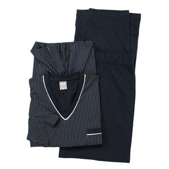 ADAMO 119252 Grote maten Blauwe Heren Pyjama