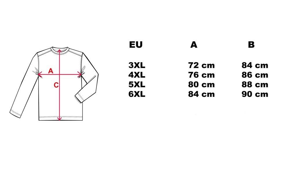 CAMUS 381106 Polo Sweater de grandes tailles Navy Blue