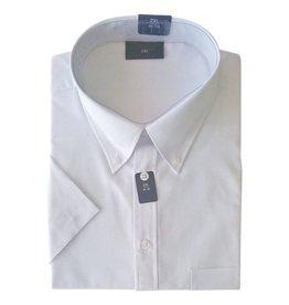 Kingsize Brand SS900 witte grote maten overhemd korte mouw