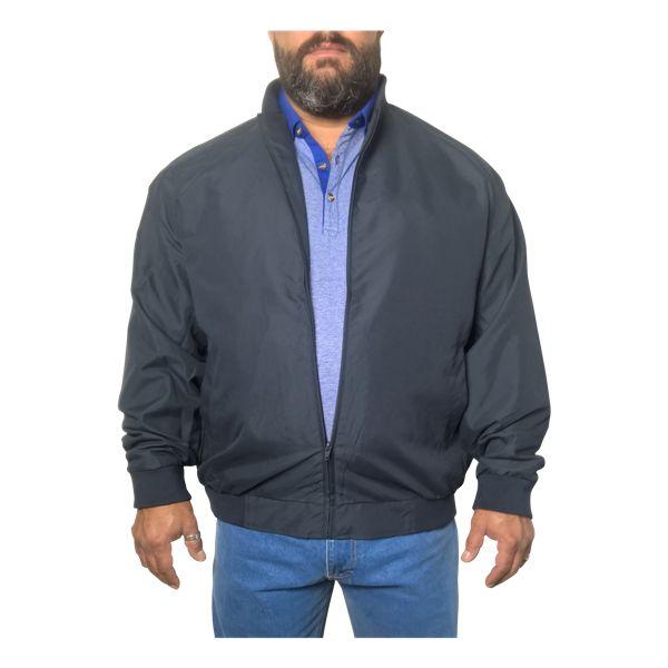Kingsize Brand 056 blauwe grote maten zomerjas