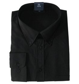 Kingsize Brand 110 zwarte grote maten overhemd