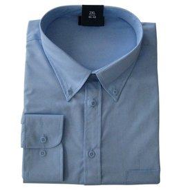 Kingsize Brand 510 licht blauwe grote maten overhemd