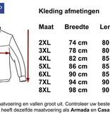 Kingsize Brand JT086 Grote maten Zwarte Bodywarmer