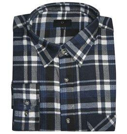 Kingsize Brand 15641 Grote maten blauwe overhemd