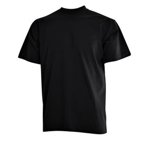 CAMUS zwarte grote maten T-shirt