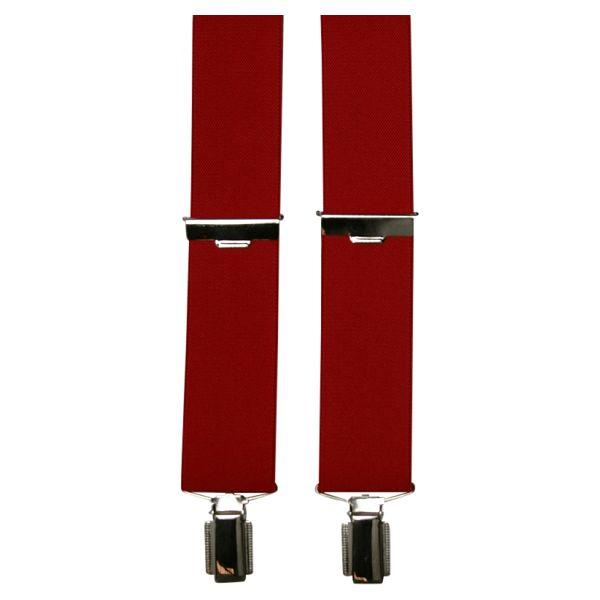 K&C 910  Bretelles de grandes tailles Rouge