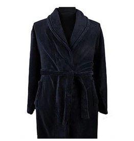 Kingsize Brand PJ068 Grote maten Badjas - Navy Blue