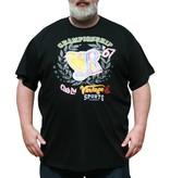VANDAM 7710 T-shirt grandes tailles noir