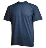 CAMUS denim marine grote maten T-shirt