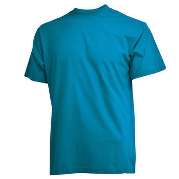 CAMUS turkooise grote maten T-shirt