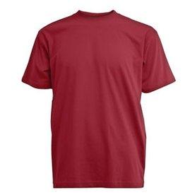 CAMUS bordeaux rode grote maten T-shirt